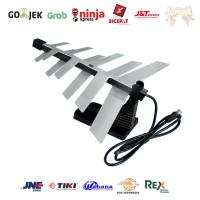 Antena Digital Flash / Indoor Antenna / Antena Dalam Sirip Hiu / Petir