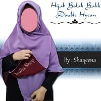 Termurah Hijab segiempat bolak balik