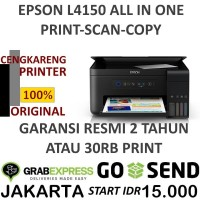 EPSON L4150 ALL IN ONE PRINT SCAN COPY WIFI PRINTER INFUS ORIGINAL