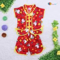 Jual Setelan Sanghai Uk Bayi / Setelan Baby Baju Anak Baju Imlek Kaos Anak Murah