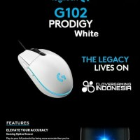LOGITECH G102 PRODIGY GAMING MOUSE NEW