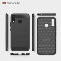 Softcase Carbon Fiber Armor Case Cover Casing HP Asuz Zenfone 5Z