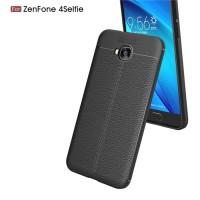 Softcase Carbon Fiber Premium Case Cover Casing Asuz Zenfone 4 Selfie