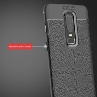 Softcase Carbon Fiber Armor Premium Case Cover Casing HP OnePlus 6