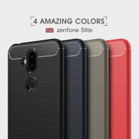 Softcase Spigen Brush Armor Case Cover Casing HP Asuz Zenfone 5 Lite