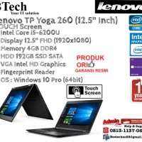 LENOVO TP Yoga 260 Intel Core i5-6200U/4GB/192GB SSD/Win10Pro