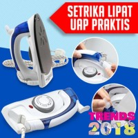 #EH113 - Setrika Ion UAP HETIAN Travel STEAM UNIK LIPAT