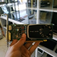 VGA CARD NVIDIA QUADRO 600 - 1 GB DDR3 128 BIT DESAIN DAN GRAFIS