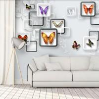 Wallpaper Custom Termurah Motif Floral