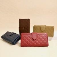 Dompet wanita model jahit terbaru cantik & simpel Viyar Violet