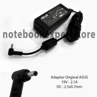 Adaptor Charger Laptop Notebook Asus 19V 2 1A Original Soket Kecil