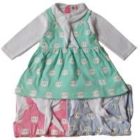 "Dress Baby Pure Brocate Flower / Dress Pesta Bayi BRAND ""MI ANGEL"""