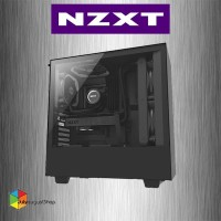 NZXT H500 Matte Black SECC Steel and Tempered Glass ATX Mid Tower