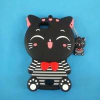 CASE SOFTCASE 4D MIMI CAT KUCING SARUNG KONDOM HP OPPO NEO 5 NEO5 A31