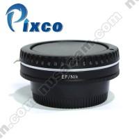 Lens Adapter Lensa Canon EOS EF Camera To Ke Untuk Body Nikon DSLR