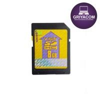 SD CARD V-GEN MACRO KARTU MEMORY EKSTERNAL 8GB UNTUK KAMERA