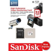 SANDISK MICRO SD / MICROSD CARD 32GB HIGH ENDURANCE VIDEO MONITORING