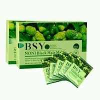 BSY Noni Black Hair Magic Shampo - BPOM dan Halal
