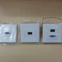 Faceplate VGA + HDMI