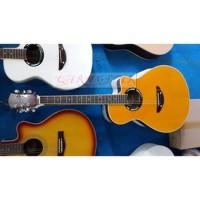 Harga qary gitar gitar akustik merk yamaha tipe apx500ii murah | Pembandingharga.com