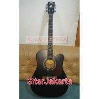 Harga qary gitar gitar akustik elektrik yamaha f310 blakcdoff murah | Pembandingharga.com