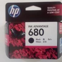 Tinta HP 680 Black Original Ink Cartridge - For 2135, 3635