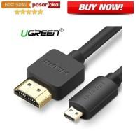 Kabel hp ke TV UGreen Kabel Adapter Micro HDMI to HDMI Male 1.5M