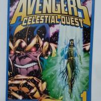 Komik Komik Import Vintage / jadul Avengers Celestial Quest 1