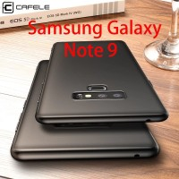 Samsung Galaxy Note 9 - CAFELE OFFICIAL Slim Silicon Matte Soft Case