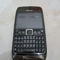 Nokia e71 bekas batangan, Hitam HP Murah Bukan Android