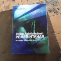 Buku etika adminitrasi pemerintahan ut