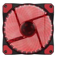 Fan Casing M-TECH 12 cm LED 15 MERAH case cooler - MT-12025-RD