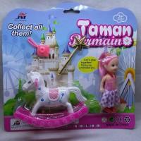 Mainan Barbie Cilik With Asesoris Bermain Kuda Kudaan