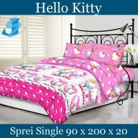 Tommony Sprei Single 90 x 200 - Hello Kitty