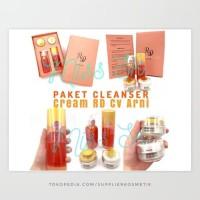 Paket cleanser Cream RD KRIM PERAWATAN KULIT WAJAH CV ARNI BPOM