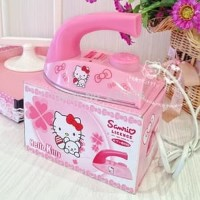 Promo Setrika Baju Hello Kitty Small Iron HK Pengering Baju Mini