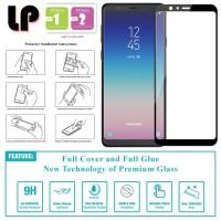 LP Full Glue Tempered Glass Samsung Galaxy A8 Star (2018)