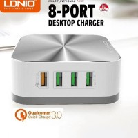 LDNIO A8101 Multifunction Desktop 8-Port USB Power Adapter ORIGINAL