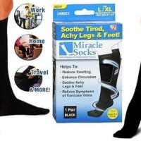Miracle Socks Anti Fatigue / Kaos Kaki Anti Lelah Travelling