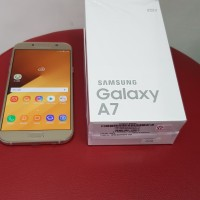 HP SAMSUNG A7 2017 GOLD SECOND