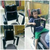 Kursi Bonceng Anak Motor Di Belakang / Kursi Bonceng Motor Backrest