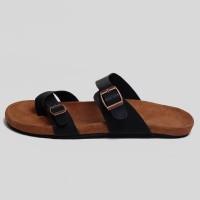 Sandal Pria dan Wanita - Delta Black Tan