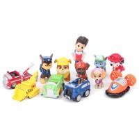 Set Paw Patrol Action Figure / Pajangan mainan 12 pcs