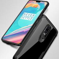 Softcase TPU Acrylic Ringke Hitam Preimium Case Casing Cover OnePlus 6