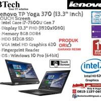 "LENOVO TP Yoga 370 (13.3"") Intel Core i7-7500U/8GB/512GB SSD/Win10Pro"