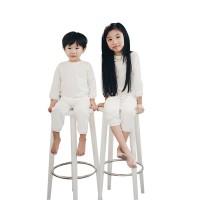 Mosfit Jes Sleepwear White Setelan Baju Anak Perempuan