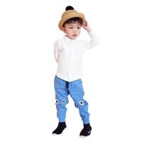 Mosfit Otniel Top white Baju Atasan Anak Laki Laki