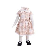 Mosfit Tasha Light Brown Dress Anak Perempuan