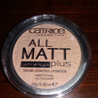 Catrice all matt shine control powder preloved - beli salah warna