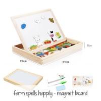 Harga promo murah edufuntoys farm spells happily magnetic board